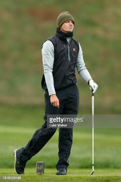 Mateusz Gradecki of Poland plays his tee shot on the 3rd hole during Day Three of the Range Servant Challenge by Hinton Golf at Hinton Golf Club on...
