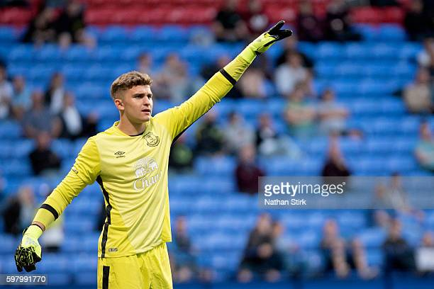 Mateusz Hewlet of Everton during the Checkatrade Trophy group match between Bolton Wanderers and Everton under23s at Macron Stadium on August 30 2016...