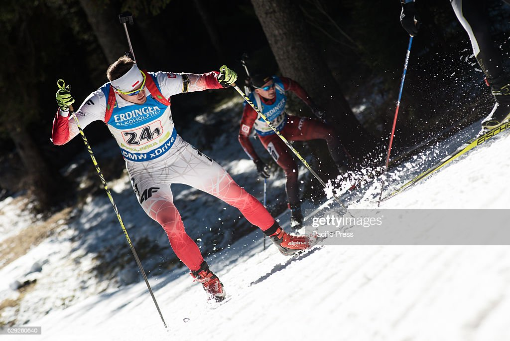 Mateusz Janik of Poland on the course during men 4 x 7,5 km... : News Photo