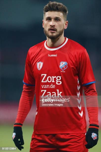 Mateusz Klich of FC Utrecht during the Dutch Eredivisie match between FC Utrecht v Sparta at the Stadium Galgenwaard on February 7 2018 in Utrecht...