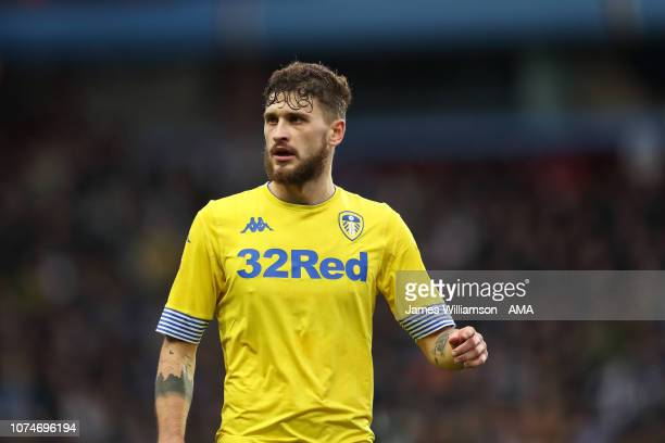 Mateusz Klich of Leeds United during the Sky Bet Championship match between Aston Villa and Leeds United at Villa Park on December 23 2018 in...