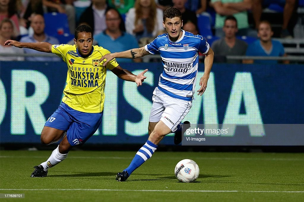 Mateusz Klich Of Pec Zwolle Lucas Bijker Of Sc Cambuur During The News Photo Getty Images