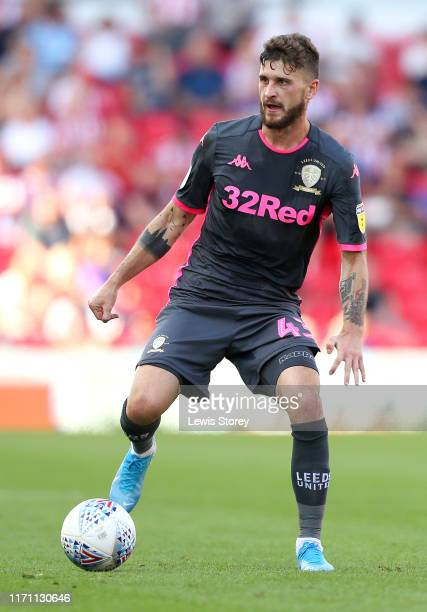 Mateusz Klich of Stoke City runs with the ball during the Sky Bet Championship match between Stoke City and Leeds United at Bet365 Stadium on August...