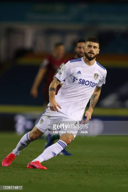 Mateusz Klich of Wolverhampton Wanderers during the Premier League match between Leeds United and Wolverhampton Wanderers at Elland Road on October...