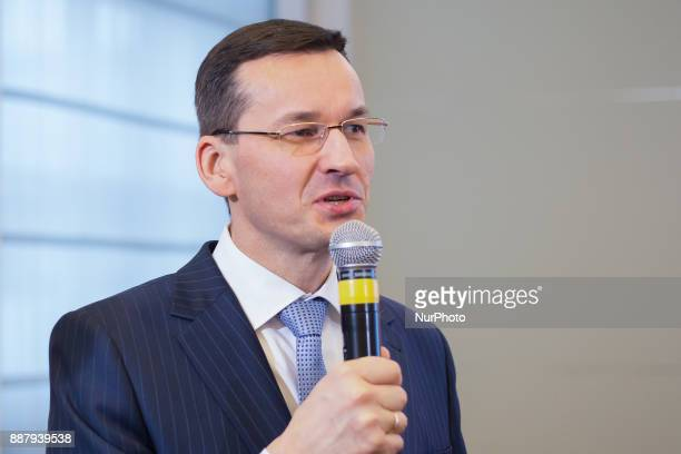 Mateusz Morawiecki Polish Minister of Economic Development and Minister of Finance in Warsaw Poland on 16 February 2016