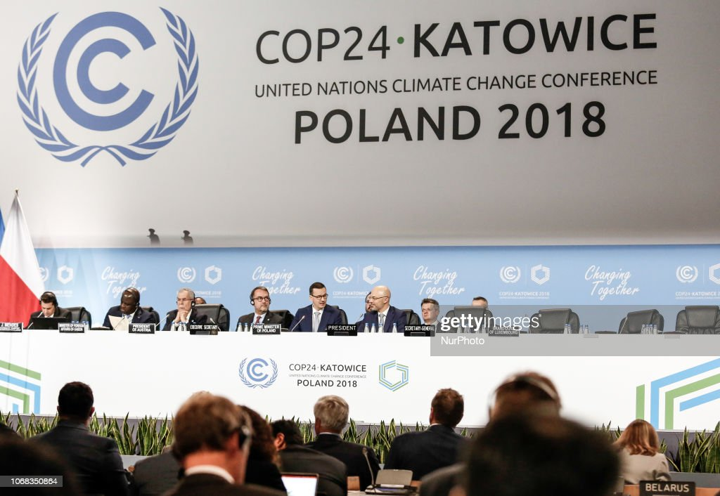 UN Conference COP24 In Poland  Day 2 : News Photo