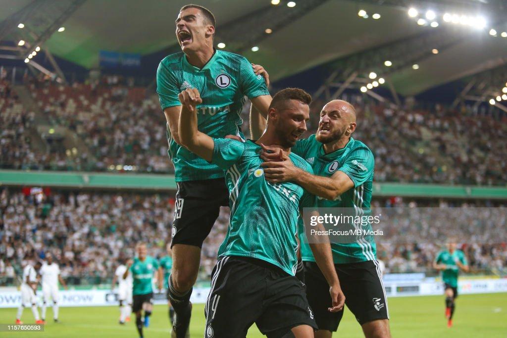 Legia Warsaw v KPS Kuopio - UEFA Europa League Second Qualifying round: 1st Leg : News Photo