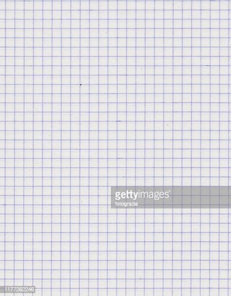 math paper - diagram stockfoto's en -beelden