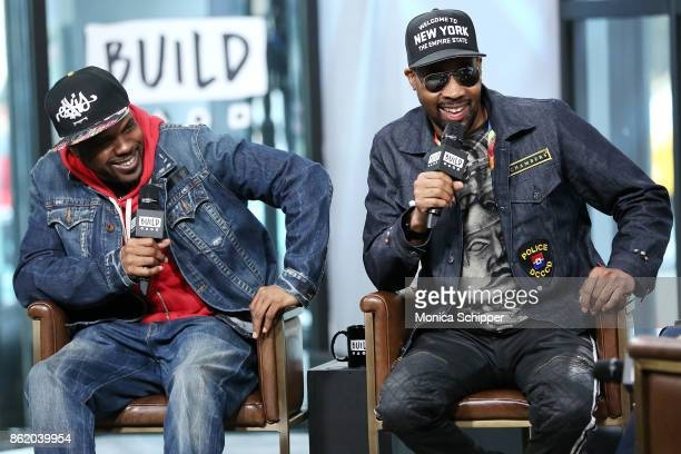 Mathematics and RZA discuss 'WuTang The Saga Continues' at Build Studio on October 16 2017 in New York City