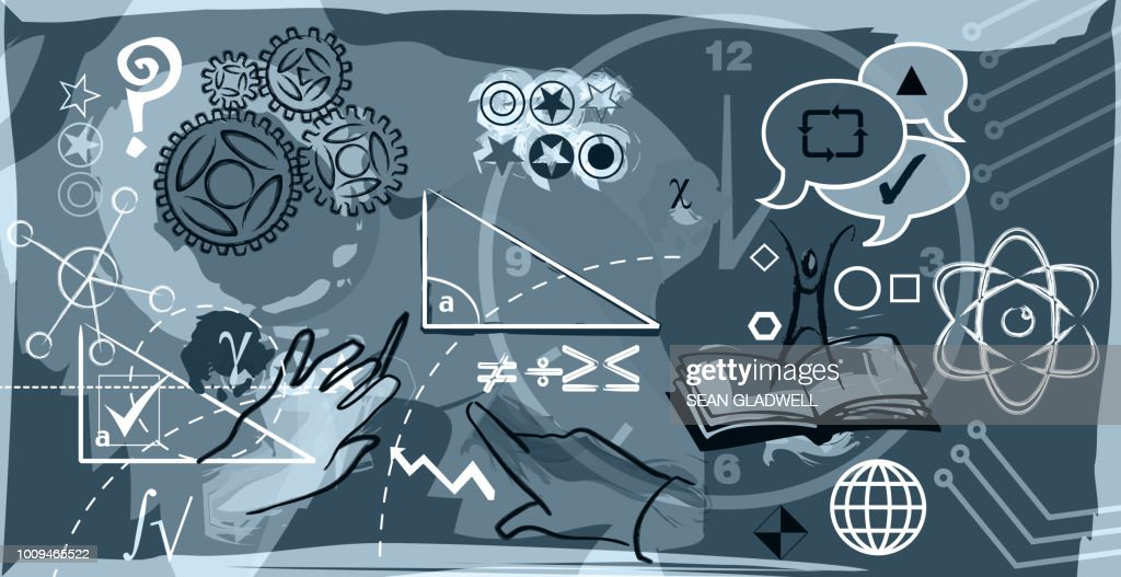 Mathematics And Science Illustration Stock Photo - Getty Images