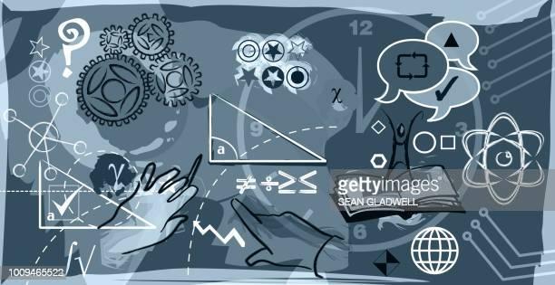 Mathematics and science illustration