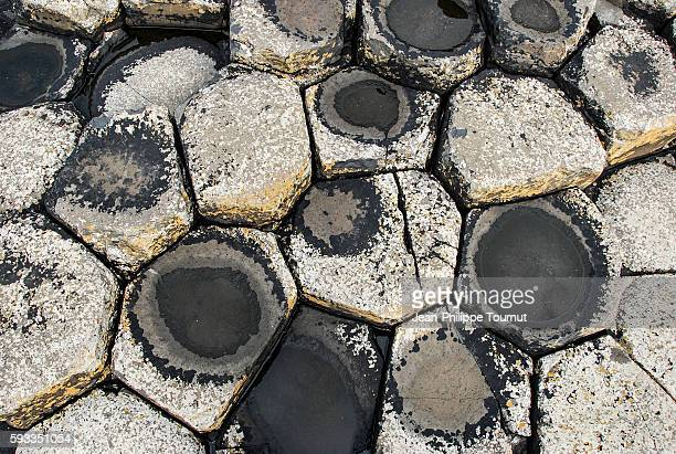 Mathematics in Nature, Geometrical pattern in Giant's Causeway, Northern Ireland