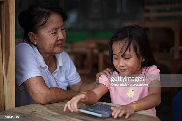 mathematics tutor - niece stock photos and pictures