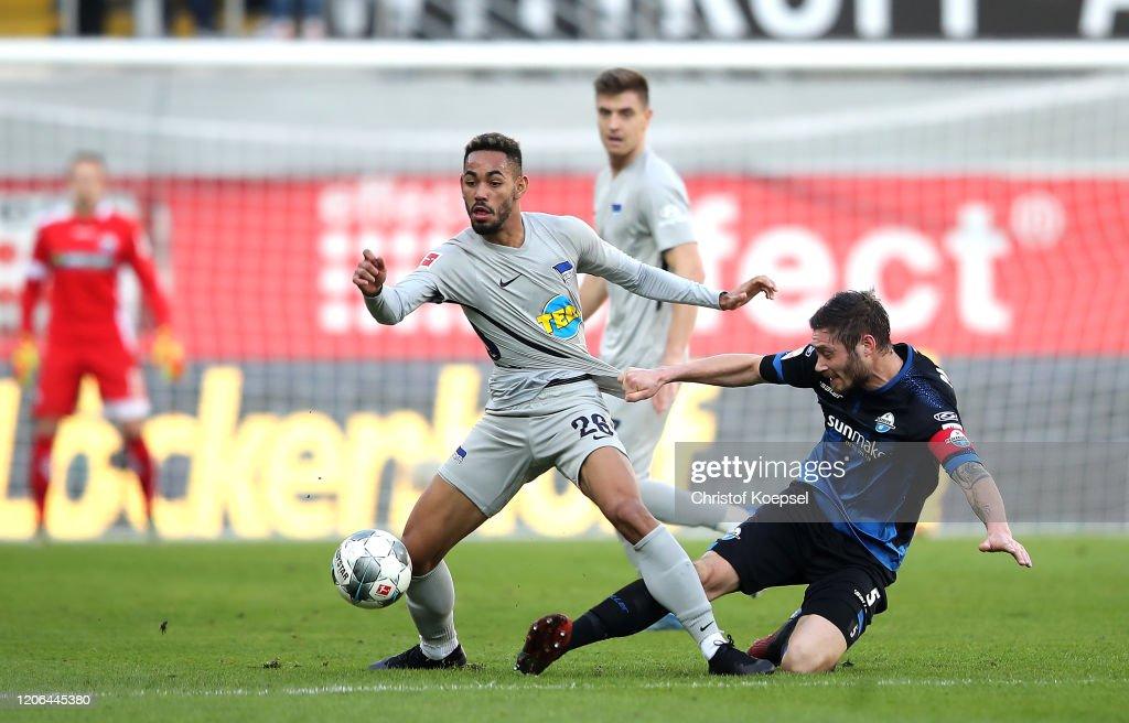 SC Paderborn 07 v Hertha BSC - Bundesliga : Nachrichtenfoto