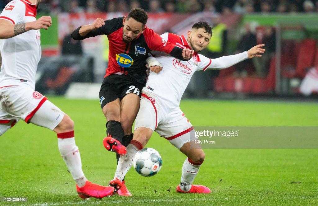 Fortuna Duesseldorf v Hertha BSC  - 1.Bundesliga : Nachrichtenfoto