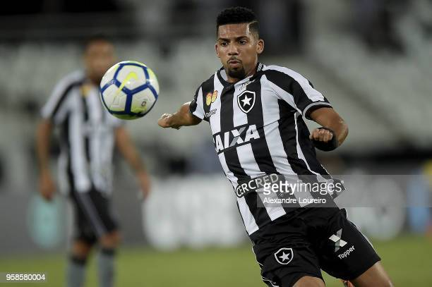 Matheus Fernandes in action during the match between Botafogo and Fluminense as part of Brasileirao Series A 2018 at Engenhao Stadium on May 14 2018...