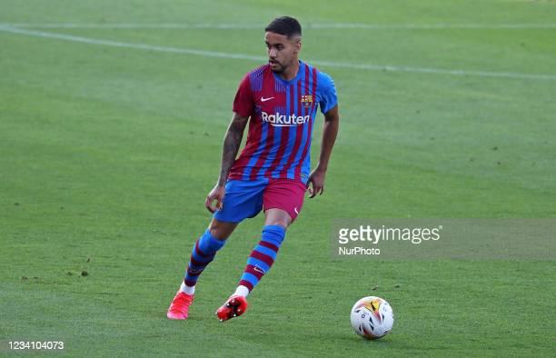 Matheus Pereira during the friendly match between FC Barcelona and Club Gimnastic de Tarragona, played at the Johan Cruyff Stadium on 21th July 2021,...