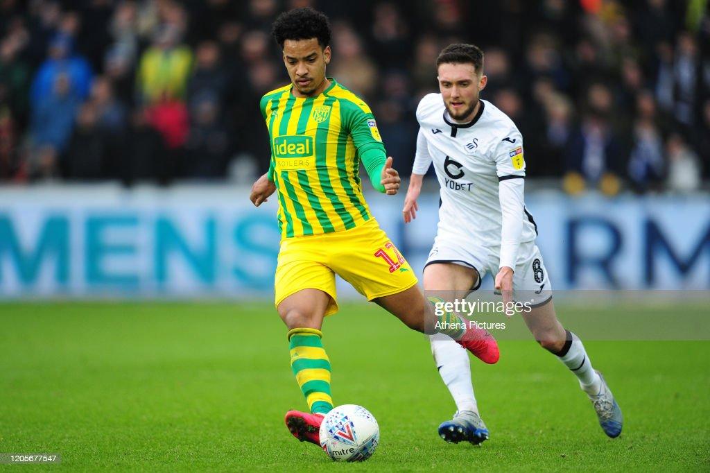 Swansea City v West Bromwich Albion - Sky Bet Championship : News Photo
