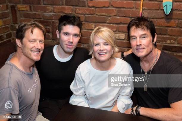 Mathew Ashford Kristos Andrews Mary Beth Evans and Ronn Moss attend The Bay Cast Host Fan Appreciation Event on July 27 2018 in Glendale California