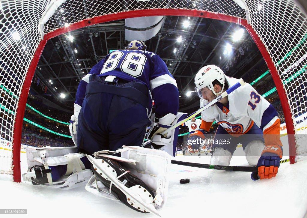 New York Islanders v Tampa Bay Lightning - Game One : News Photo