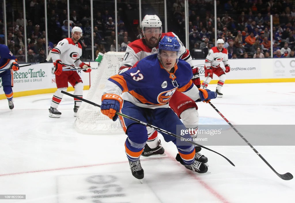 Carolina Hurricanes v New York Islanders : News Photo