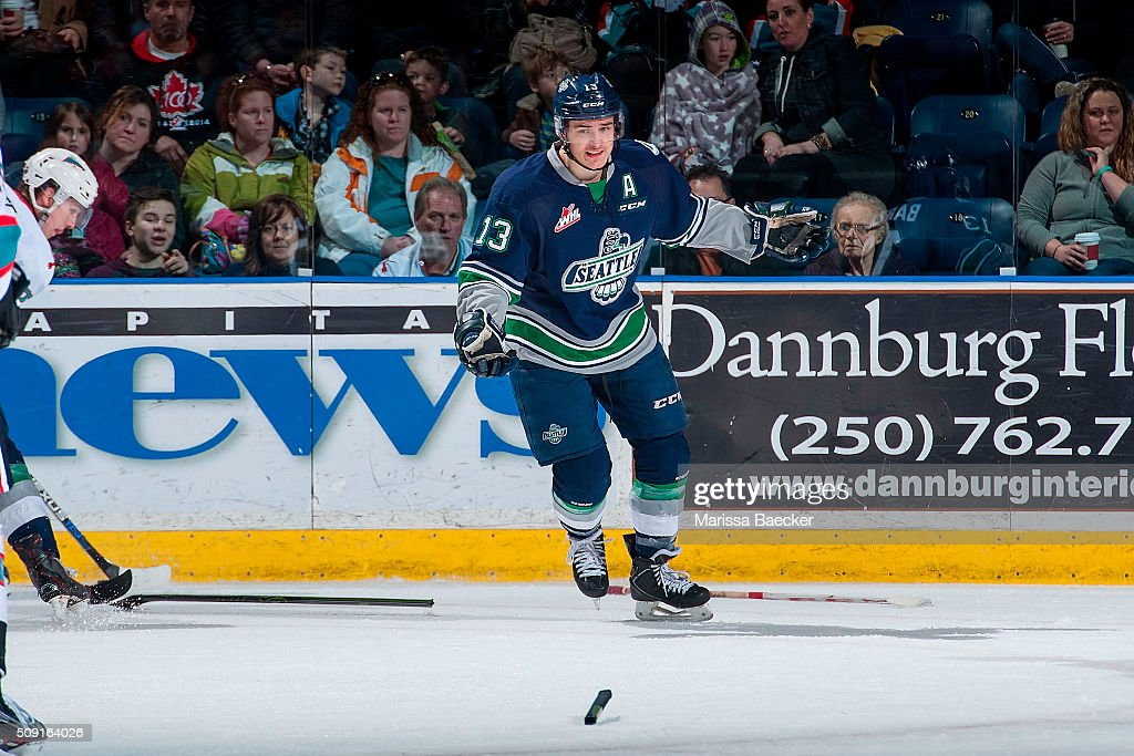 Seattle Thunderbirds v Kelowna Rockets : News Photo
