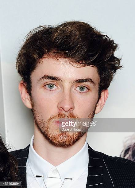 Mathew Beard attends a photocall for the film 'The Riot Club' at The BFI Southbank London on September 15 2014 in London England