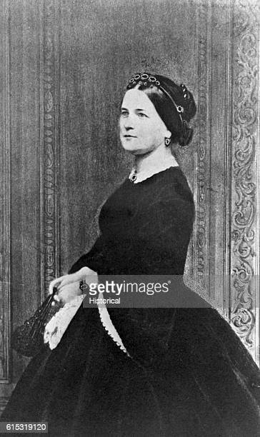 Mathew Brady studio portrait of Mary Todd Lincoln wife of Abraham Lincoln
