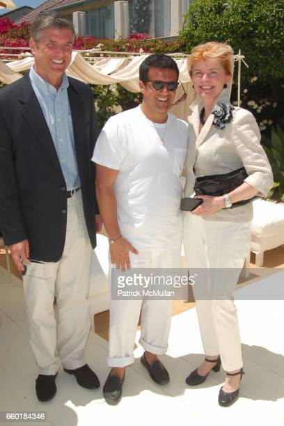 Mathew Bryant Amedeo Scognamiglio and Jo Montroy attend FARAONE MENNELLA and BARBARA BALDIERI MARCH host a benefit for March to the Top in Malibu at...