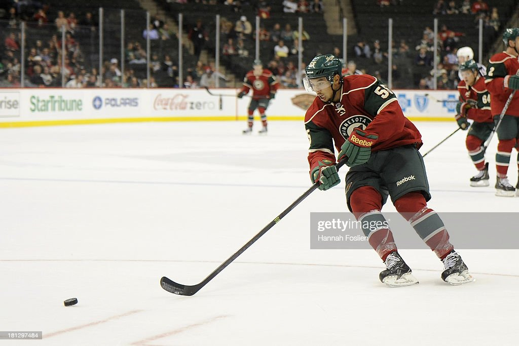 Columbus Blue Jackets v Minnesota Wild : News Photo