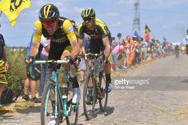 Mathew Hayman of Australia and Team MitcheltonScott / during the 105th Tour de France 2018 Stage 9 a 1565 stage from Arras Citadelle to Roubaix on...