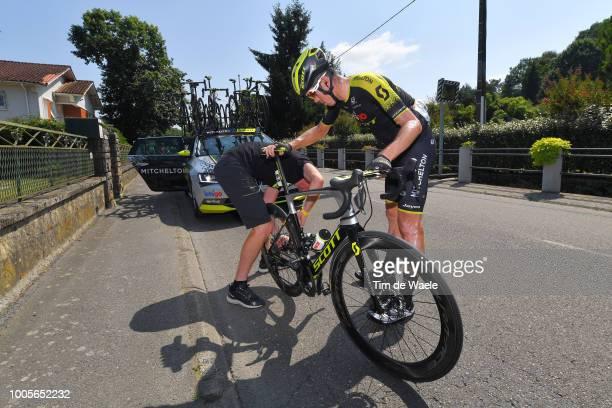 Mathew Hayman of Australia and Team Mitchelton-Scott / Mechanical Problem / Mechanic / during the 105th Tour de France 2018, Stage 18 a 171km stage...
