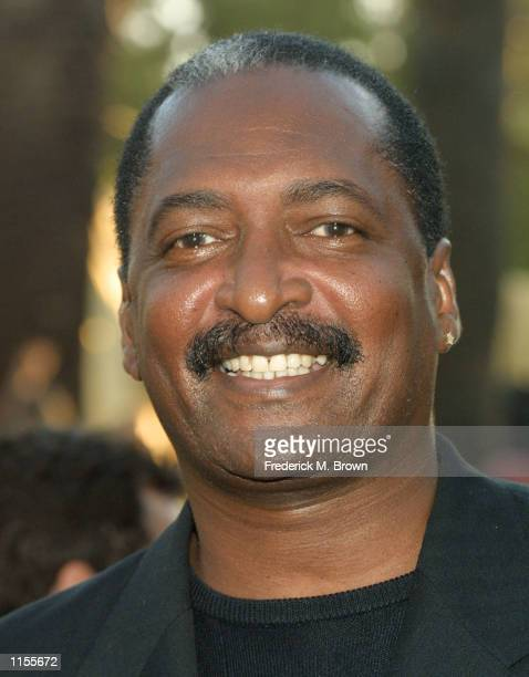 Mathew Knowles attends the film premiere of Austin Powers in Goldmember July 22 in Los Angeles California The film opens nationwide July 26 2002