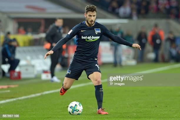 Mathew Leckie of Hertha BSC Berlin controls the ball during the Bundesliga match between 1 FC Koeln and Hertha BSC at RheinEnergieStadion on November...