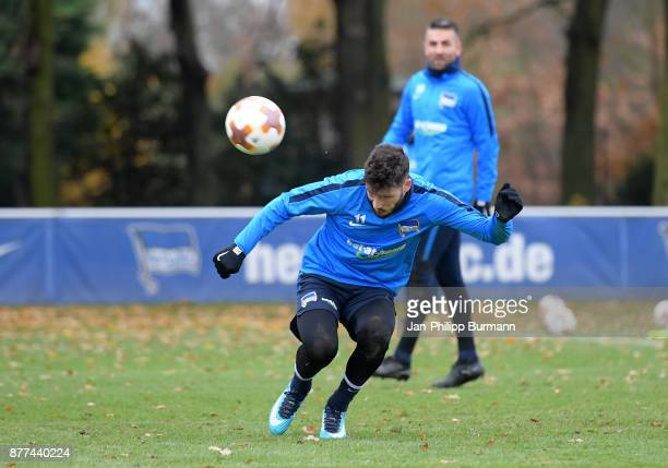 Mathew Leckie of Hertha BSC during the training on november 22 2017 in Berlin Germany