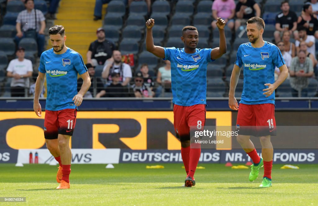 Eintracht Frankfurt v Hertha BSC - 1 Bundesliga : Nachrichtenfoto