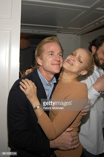 Mathew Modine and Cari Modine attend Allison Sarofim's Party for the Opening of NARNIA at Allison Sarofim's Home on November 17 2005 in New York City