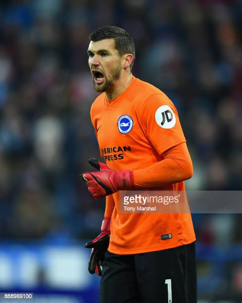 Mathew Ryan of Brighton and Hove Albion during the Premier League match between Huddersfield Town and Brighton and Hove Albion at John Smith's...