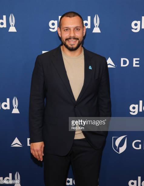 Mathew Shurka attends the 29th Annual GLAAD Media Awards at Mercury Ballroom at the New York Hilton on May 5 2018 in New York City