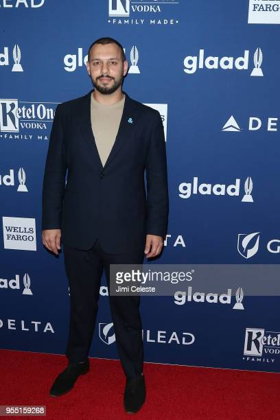 Mathew Shurka attends the 29th Annual GLAAD Media Awards at the New York Hilton Midtown on May 5 2018 in New York New York