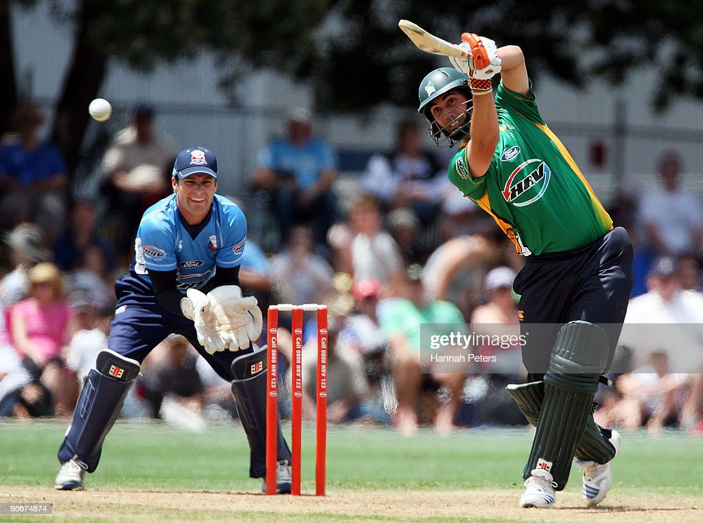 HRV Cup Twenty20 - Auckland Aces v Central Stags