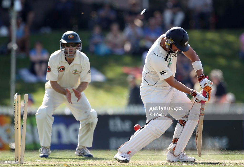 Second Test - New Zealand v Australia: Day 2