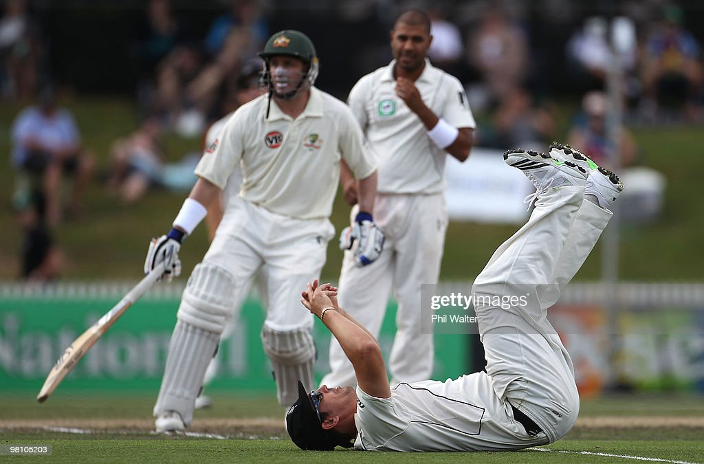 Second Test - New Zealand v Australia: Day 3