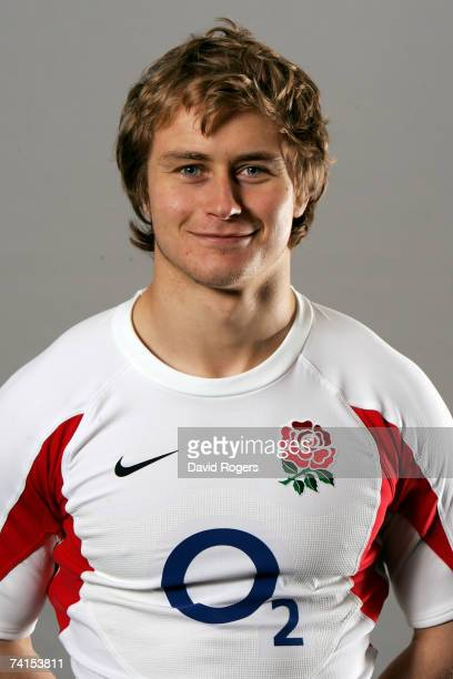 Mathew Tait of England poses at the launch of the new England Nike kit at Twickenham on May 15 2007 in London England
