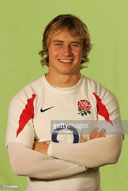Mathew Tait of England poses during a studio session held on June 7 2006 at The Manly Pacific Hotel Manly Sydney Australia