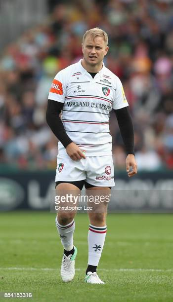 Mathew Tait of Leicester Tigers during the Aviva Premiership match between Harlequins and Leicester Tigers at Twickenham Stoop on September 23 2017...
