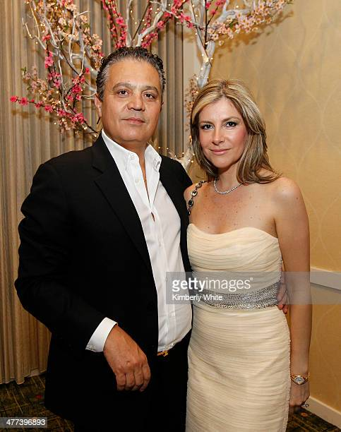 Mathew Zaheri and wife Candace pose for a photograph at the PARS Equality Center 4th Annual Nowruz Gala at Marriott Waterfront Burlingame Hotel on...