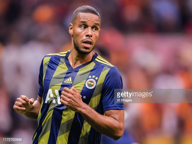 Mathias Jattah-Njie Jorgensen of Fenerbahce SK during the Turkish Spor Toto Super Lig match between Galatasaray SK and Fenerbahce AS at the Turk...