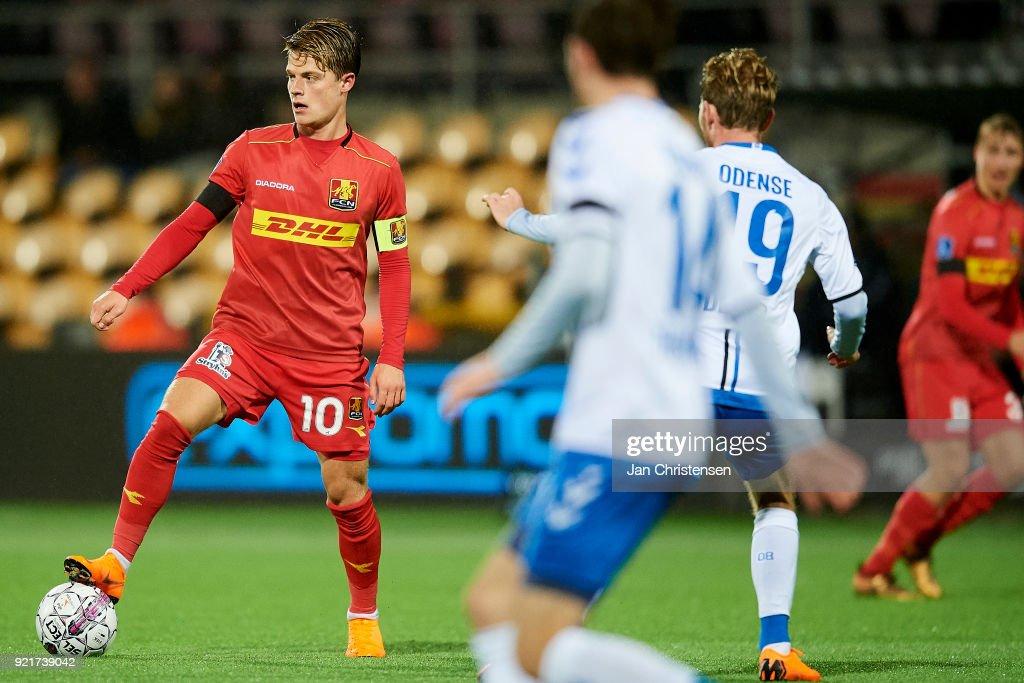FC Nordsjalland vs OB Odense - Danish Alka Superliga : Foto di attualità