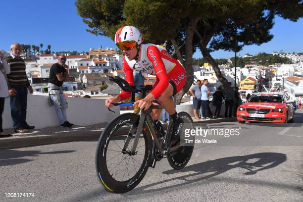 Mathias Le Turnier of France and Team Cofidis, Solutions Crédits / Carvoeiro Village / Fans / Public / during the 46th Volta ao Algarve 2020, Stage 5...